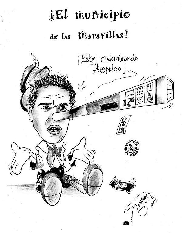 El Cartón de Nacho's:  ¡El Municipio de las Maravillas!
