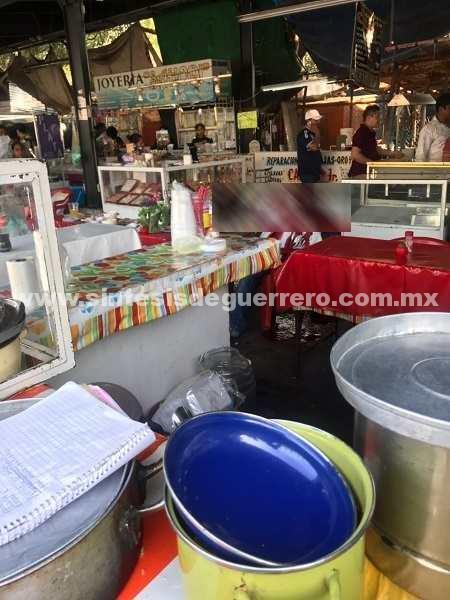 Tres muertos por ataque armado en el mercado de Iguala