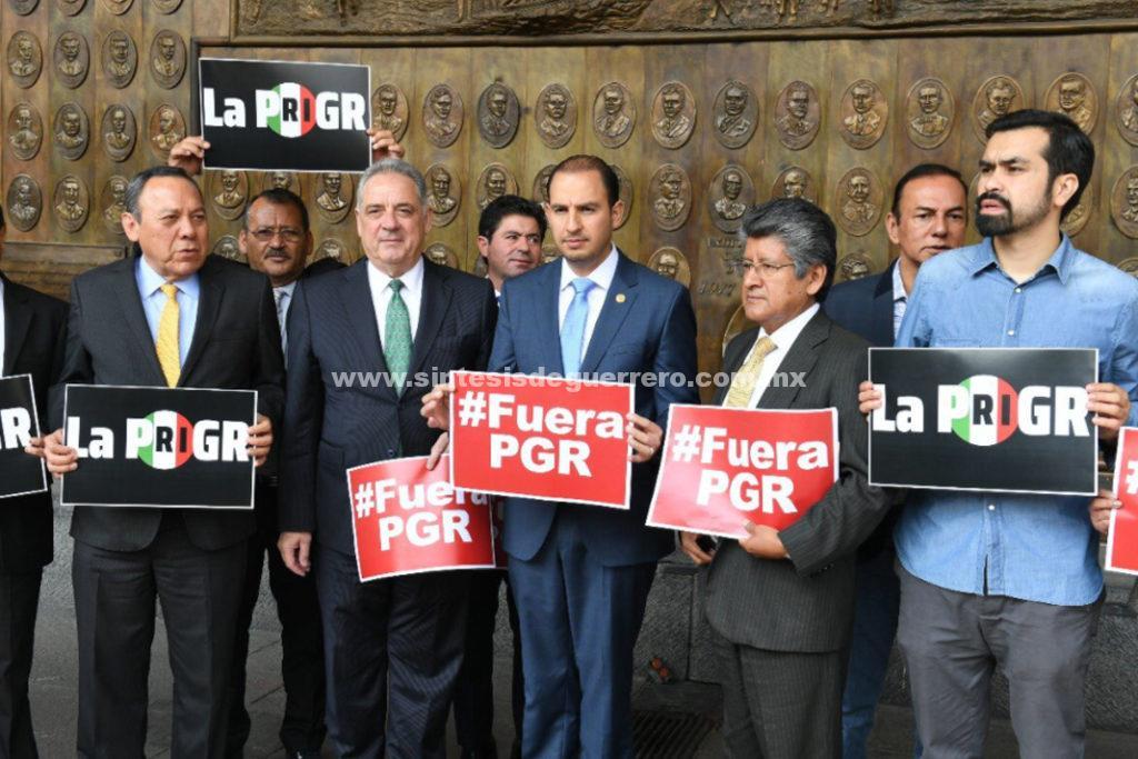 Interpone Frente demanda de juicio político contra Alberto Elías Beltrán