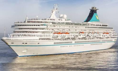 """Continúa la temporada de cruceros, arribará a Acapulco el crucero alemán """"Artania"""""""
