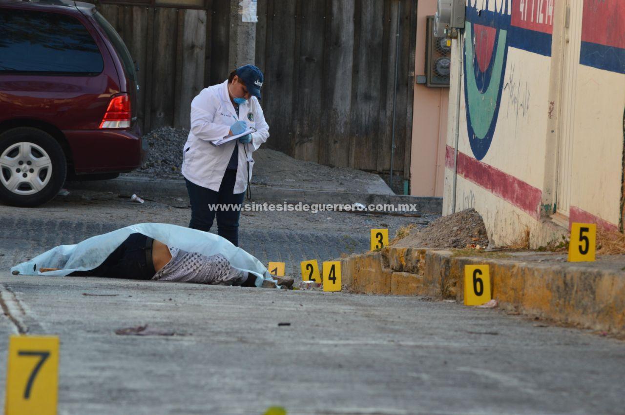 El día de su cumpleaños, ejecutan a un hombre en la colonia Tomatal de Chilpancingo