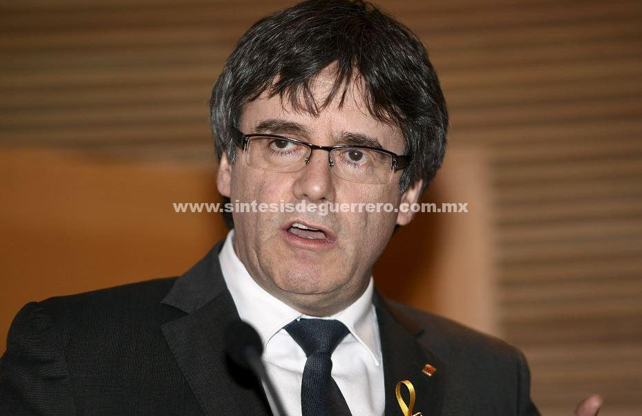 Puigdemont comparecerá mañana ante la justicia en Alemania tras ser detenido
