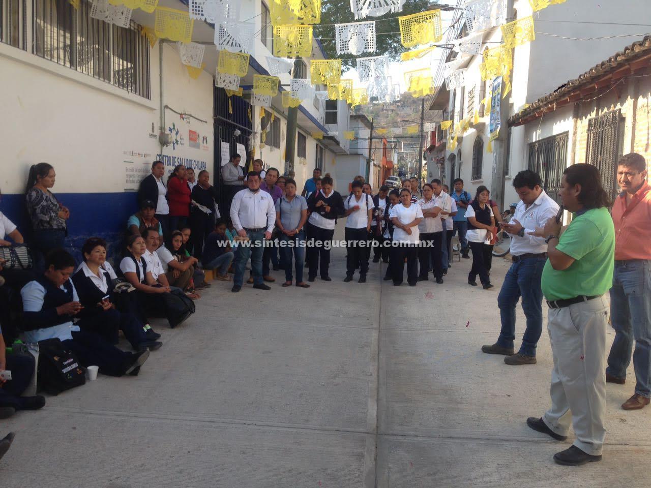 Tras paro de trabajadores, Salud enviará médicos a 6 centro de salud de Chilapa