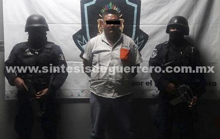 Recupera Policía Estatal en Chilpancingo un tractocamión con reporte de robo