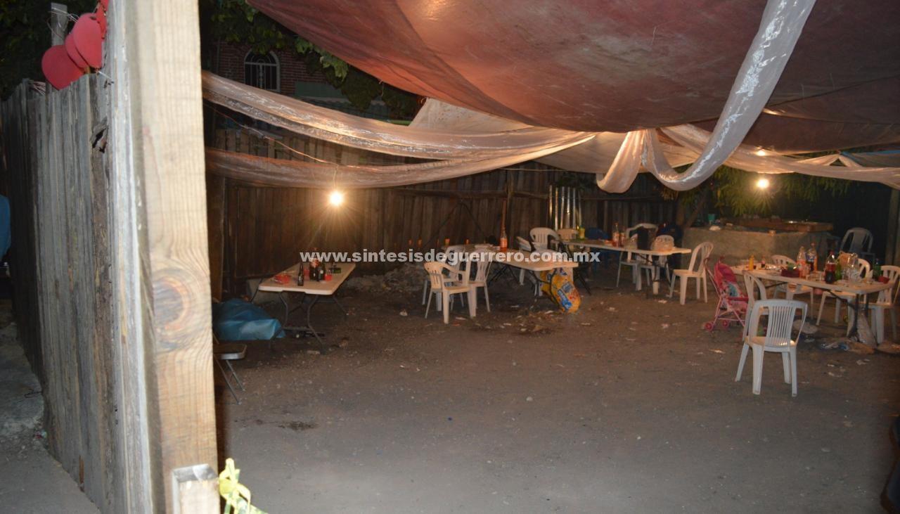Ataque armado en fiesta de 15 años deja 2 muertos y 4 heridos, en Chilpancingo