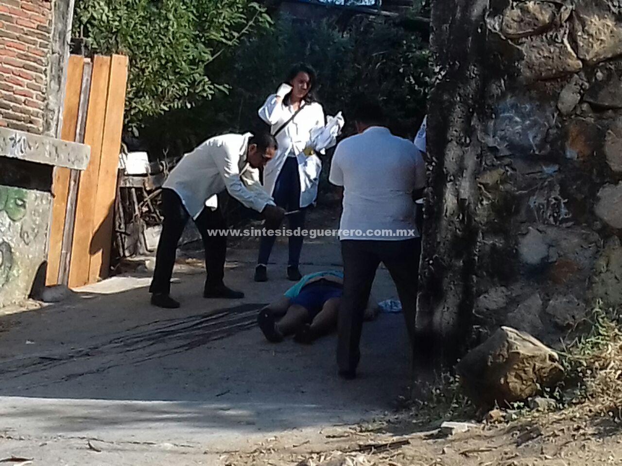 Asesinan a un hombre en Acapulco