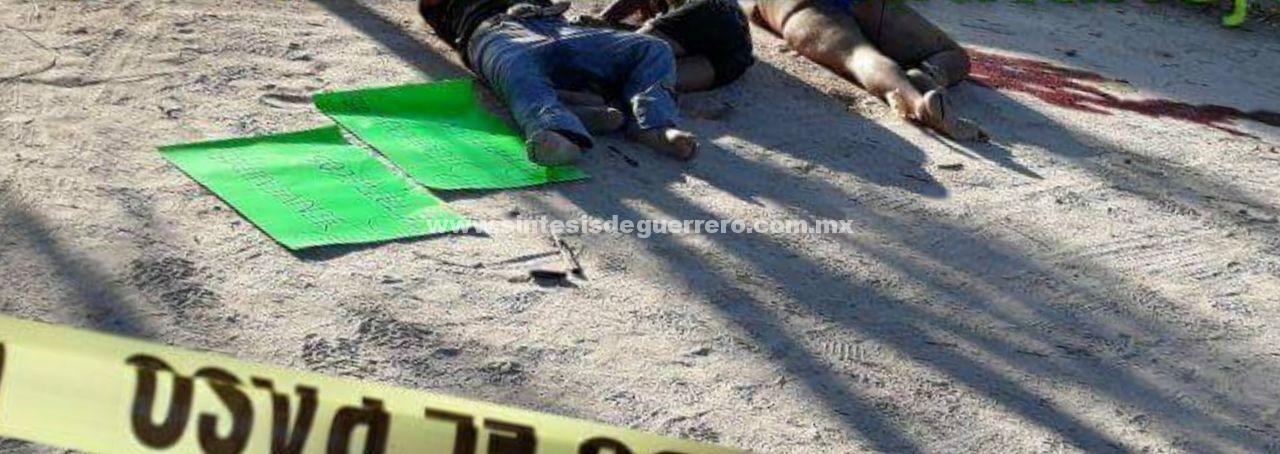Amanecen siete ejecutados en Acapulco y Zihuatanejo