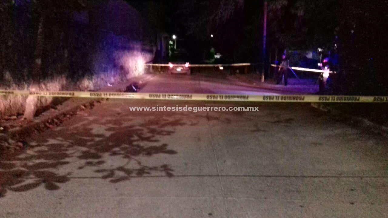 Asesinan a un hombre cerca de las instalaciones de la PGR, en Zihuatanejo