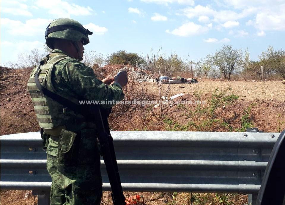 Identifican a los tres ejecutados localizados en el libramiento Chilpancingo–Tixtla.