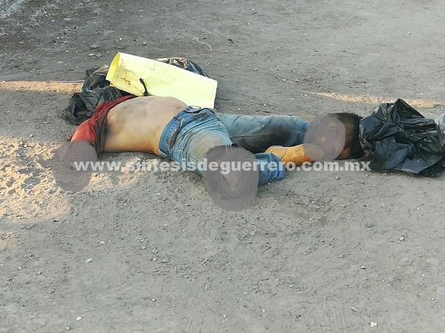 Amanecen ejecutados cerca de Iguala y Zitlala