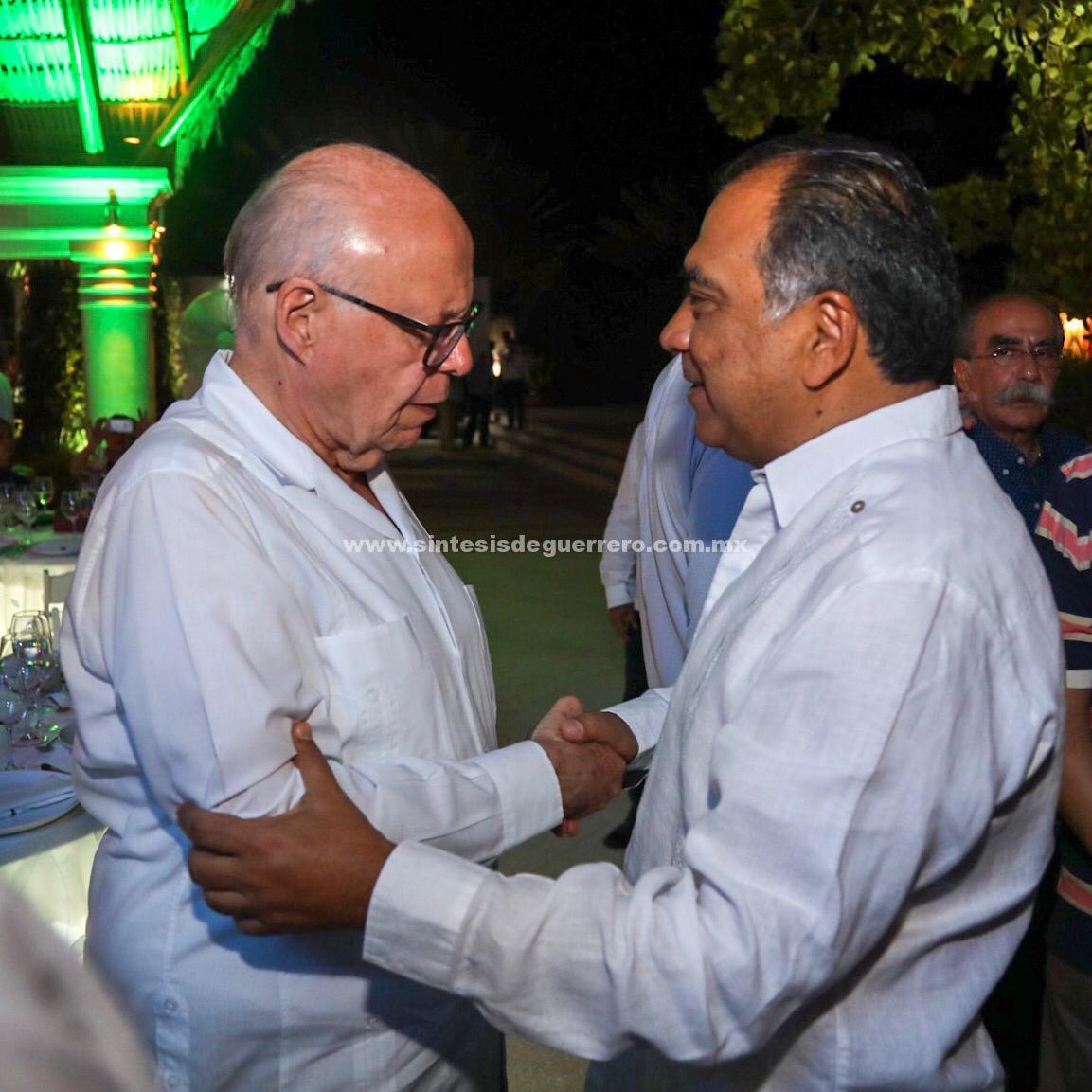 El gobernador Héctor Astudillo Flores dio la bienvenida al secretario de salud federal