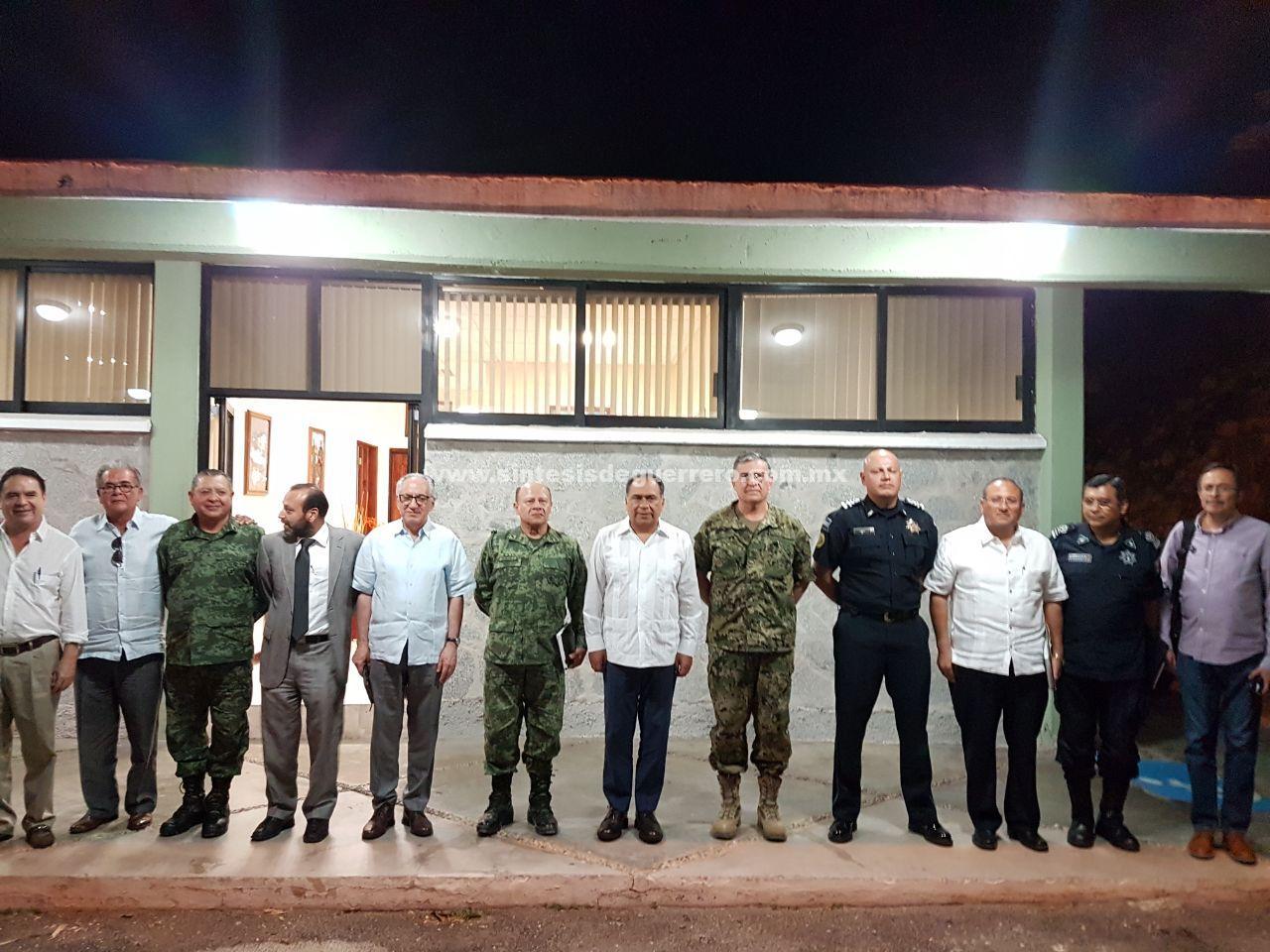 Revisa Astudillo agenda de seguridad y afina operativo para semana santa 2018 con grupo de coordinación Guerrero