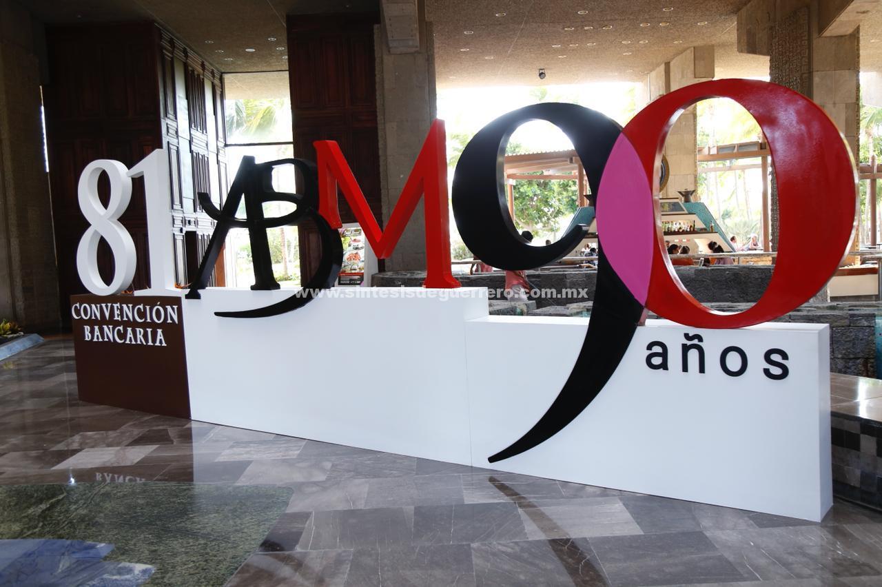 Inaugurarán el Presidente Enrique Peña Nieto y el Gobernador Héctor Astudillo la 81 convención bancaria