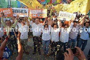 Arranca campaña Ricardo Mejía Berdeja