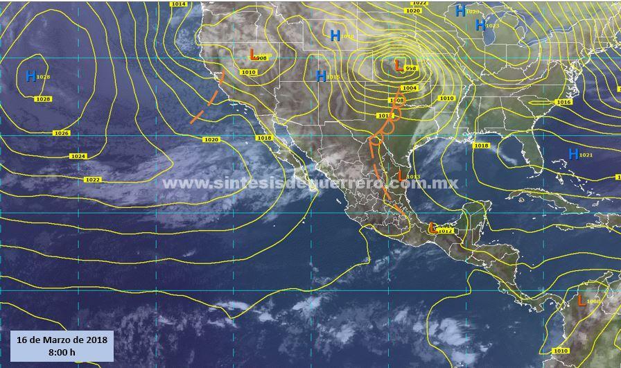 Continuarán registrándose altas temperaturas en Guerrero