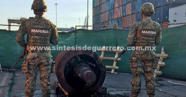Asegura la Marina Armada de Mèxico una tonelada de cocaìna en costas de Guerrero