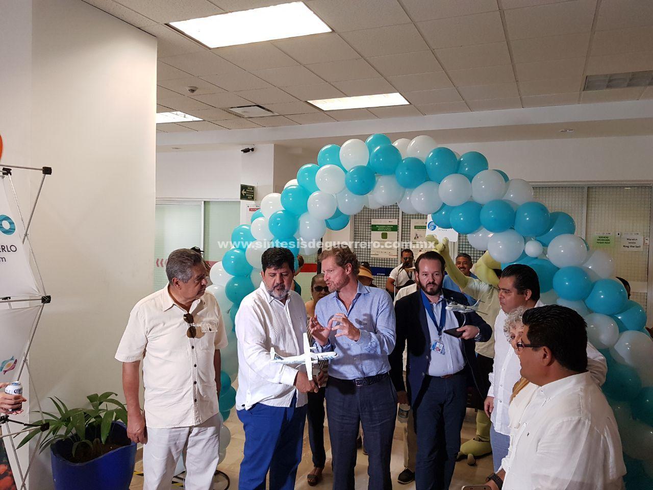 Inaugura Aeromar vuelo directo de Guadalajara a Ixtapa-Zihuatanejo
