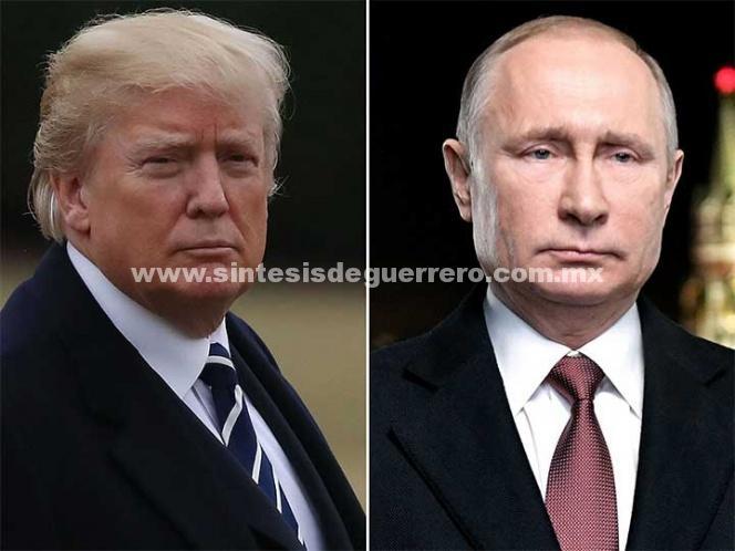 Trump felicita a Putin por reelección; preparan reunión