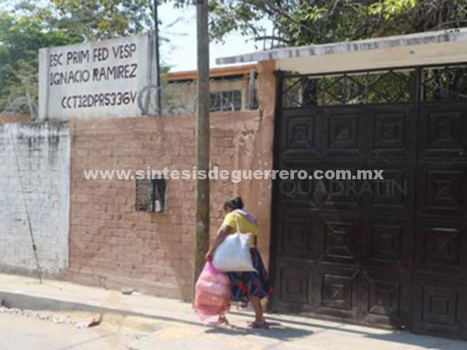 Suspenden clases en Acapulco ante temor a asaltos