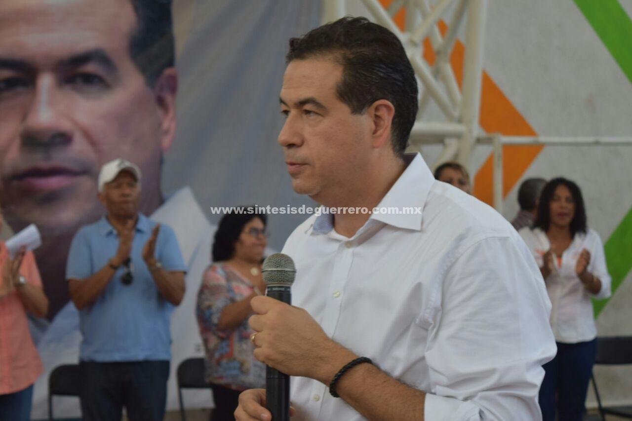 El trabajo por Acapulco será mi hoja de ruta desde la Cámara de Diputados: Ricardo Mejía Berdeja