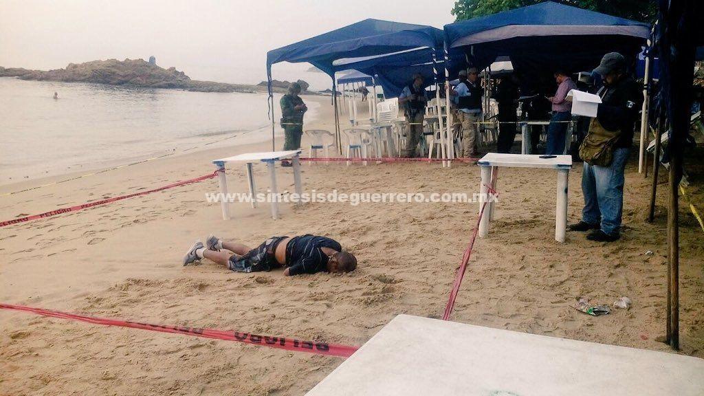 Dos ahogados frente a la Playa Papagayo de Acapulco