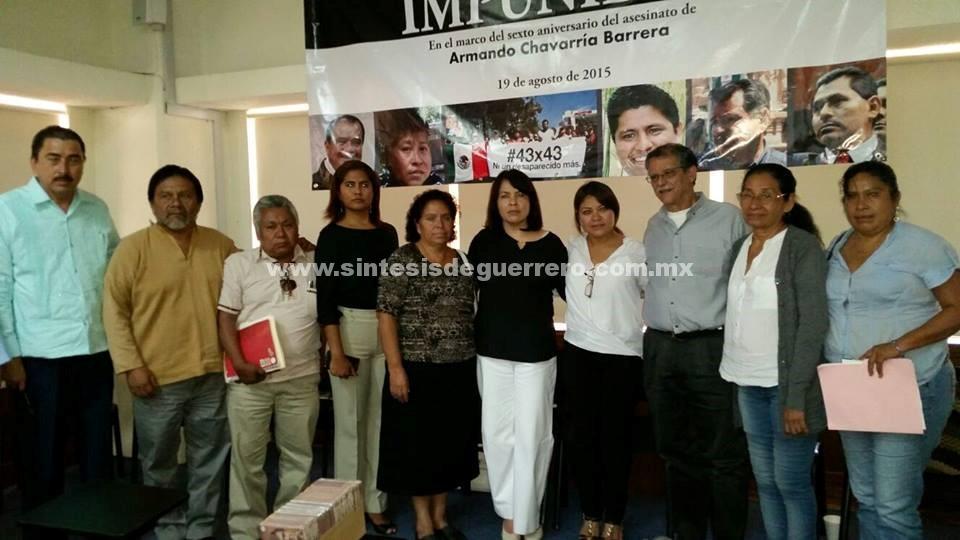 Viuda de Chavarría pide a AMLO no hacer candidato a Zeferino Torreblanca