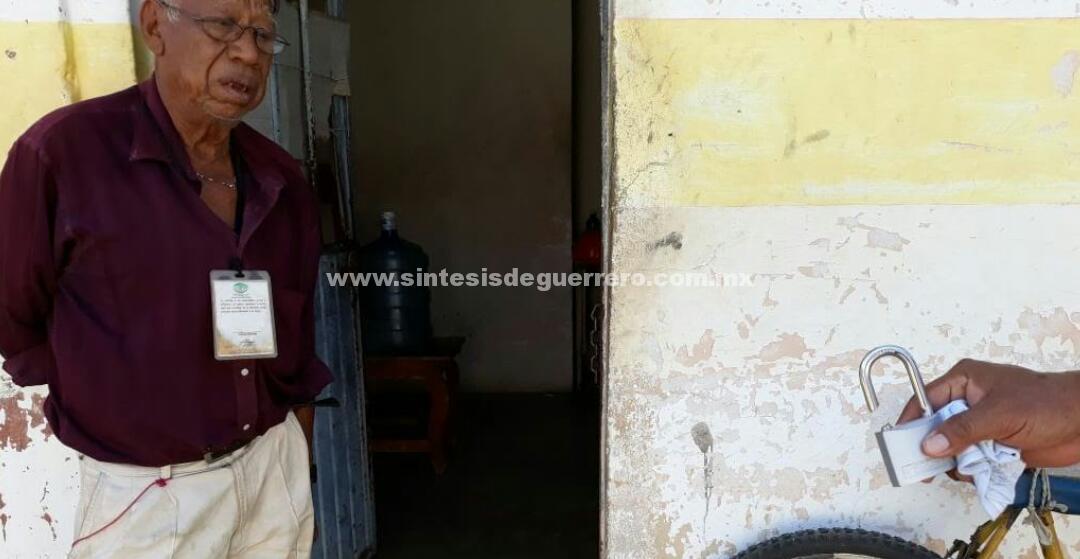 Otra vez, roban maquinaria de bombeo en el Ayuntamientonde Atoyac