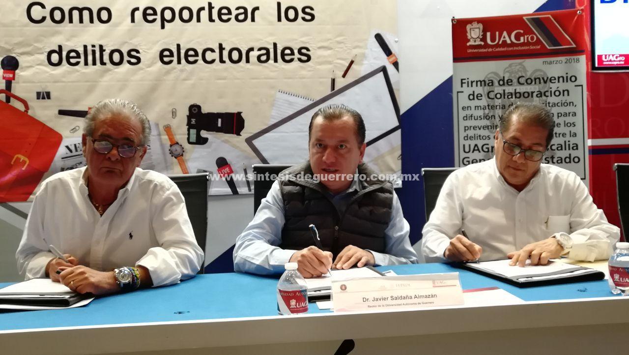 Vigila Ejército Mexicano 10 Unidades Académicas de la UAGro: rector