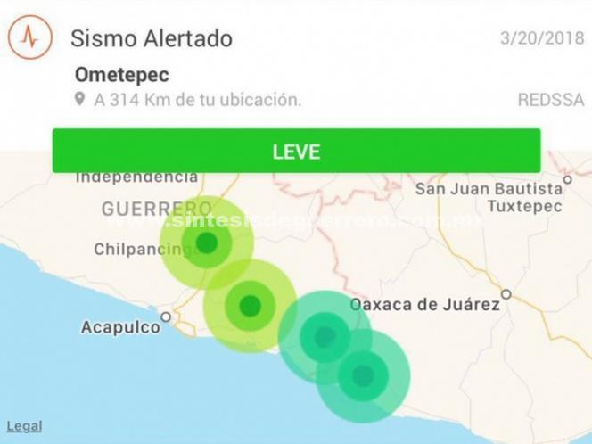 Descarta Mancera daños por sismo de hoy, 20 de marzo