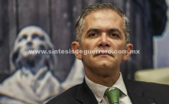 Miguel Ángel Mancera anuncia su separación del cargo de jefe de Gobierno
