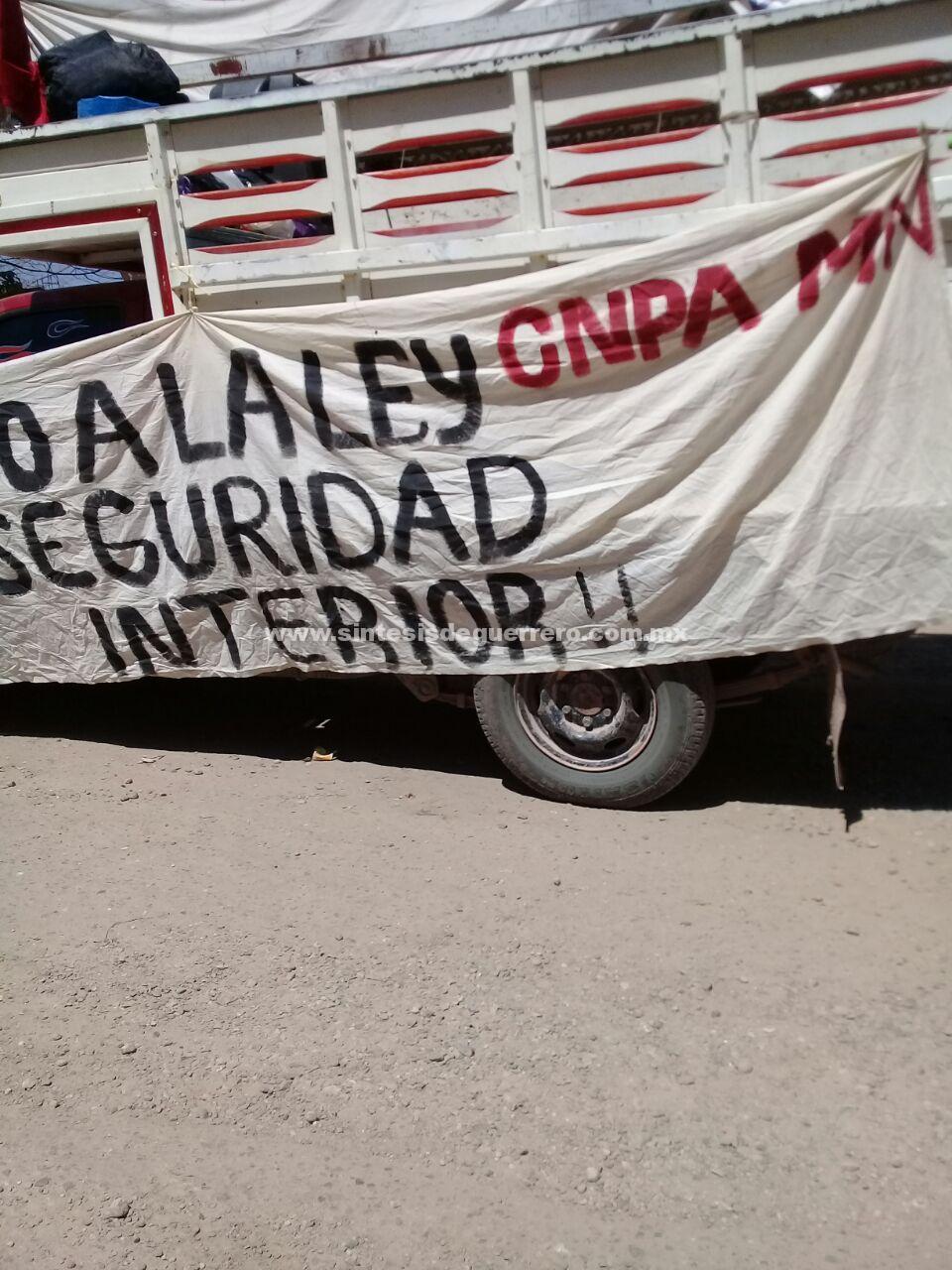 Parte a CdMx la OPIG para movilizarse contra la explotación minera y proyectos hidroeléctricos