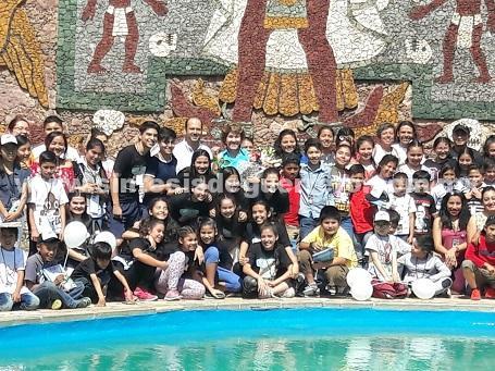 Clausura Mercedes Calvo encuentro Nacional de teatro infantil en Taxco