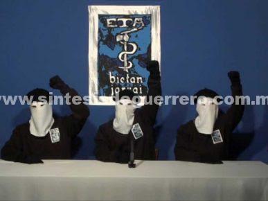 Entrega ETA armas a autoridades francesas