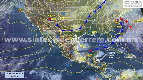 Altas temperaturas y lluvias en Guerrero: Protección Civil Estatal