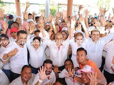 Más perredistas de la Costa Grande se suman al proyecto de Manuel Añorve en Zihuatanejo