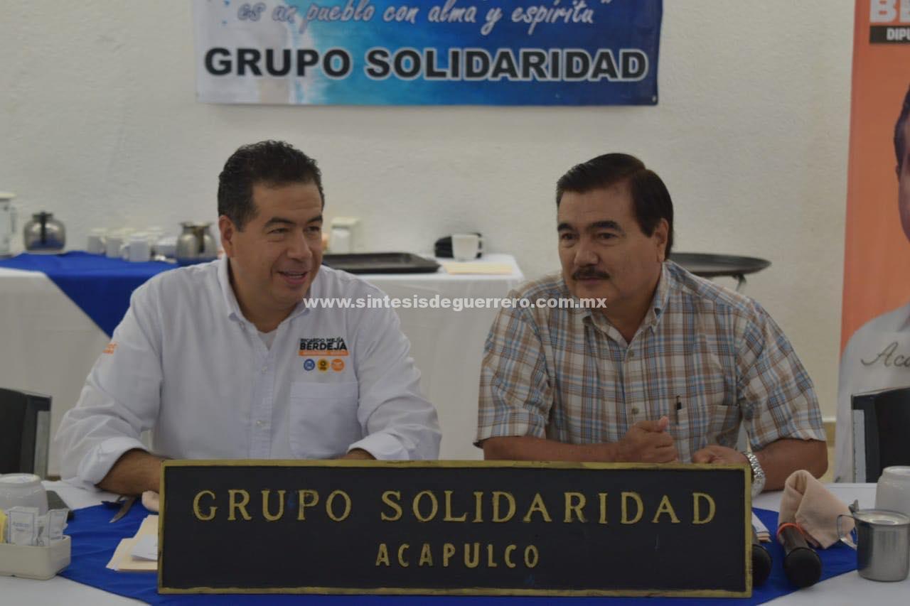 Rescate de Acapulco impacta en el desarrollo económico de toda la entidad: Berdeja