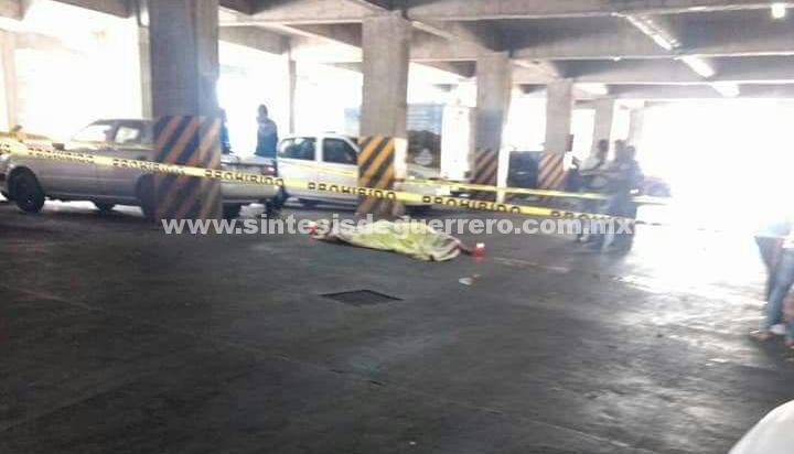 Matan a comerciante en Taxco de Alarcón, dentro de un estacionamiento