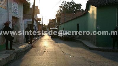 Matan a un hombre en pleno Centro de Iguala