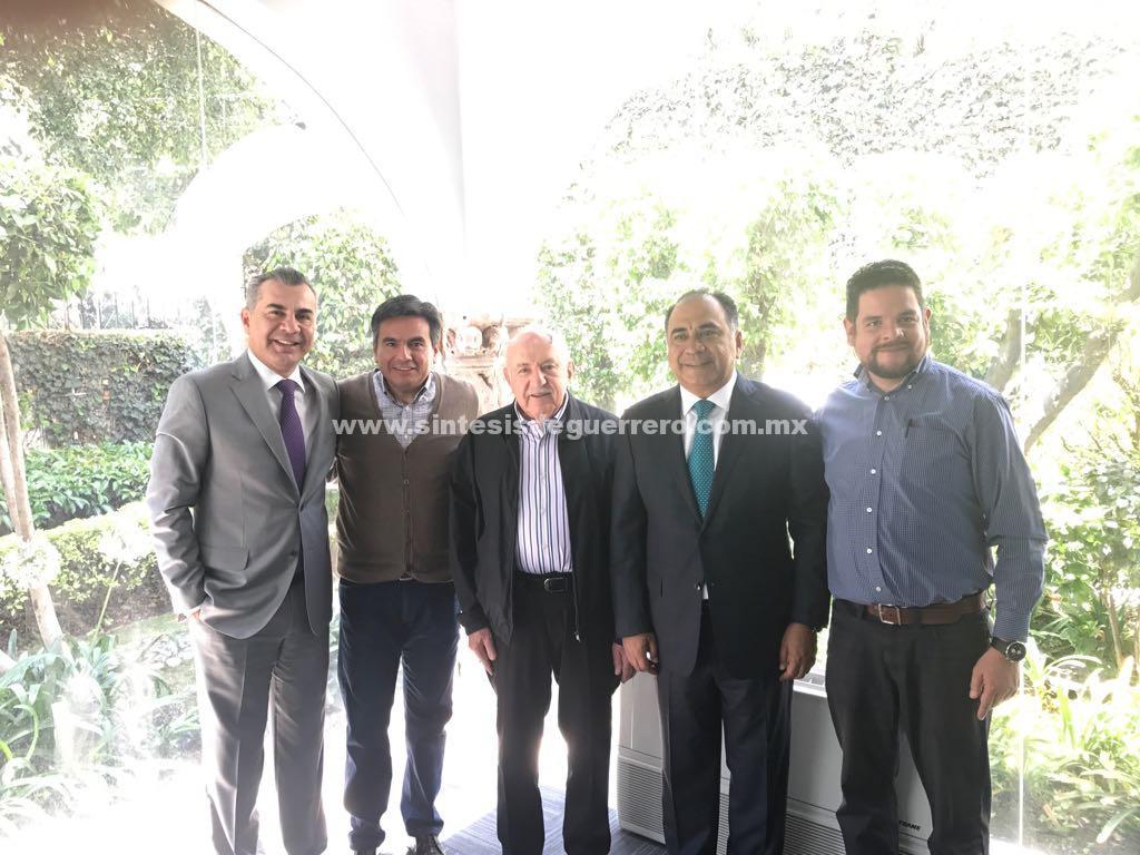 Aborda el Gobernador con PROVIVAH la reconstrucción en zona norte y el rescate de edificios en Acapulco y Chilpancingo