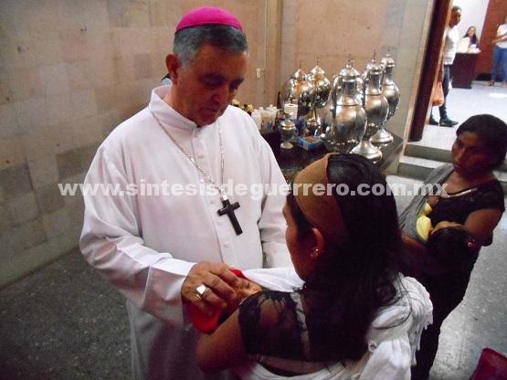 Reconocer el problema de violencia en Chilapa, pide Obispo el Gobierno de Astudillo