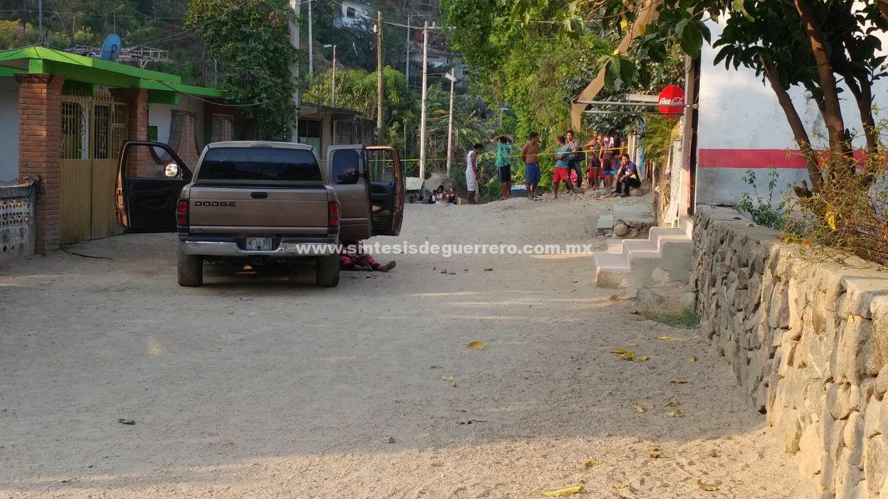 Ataque a familia de Acapulco deja dos muertos y tres heridos