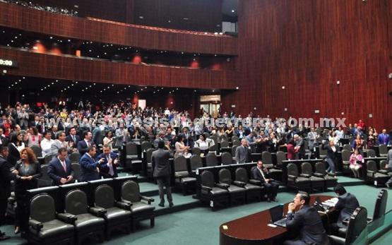 Acuerdan diputados despedirse de la Legislatura el lunes 30 de abril