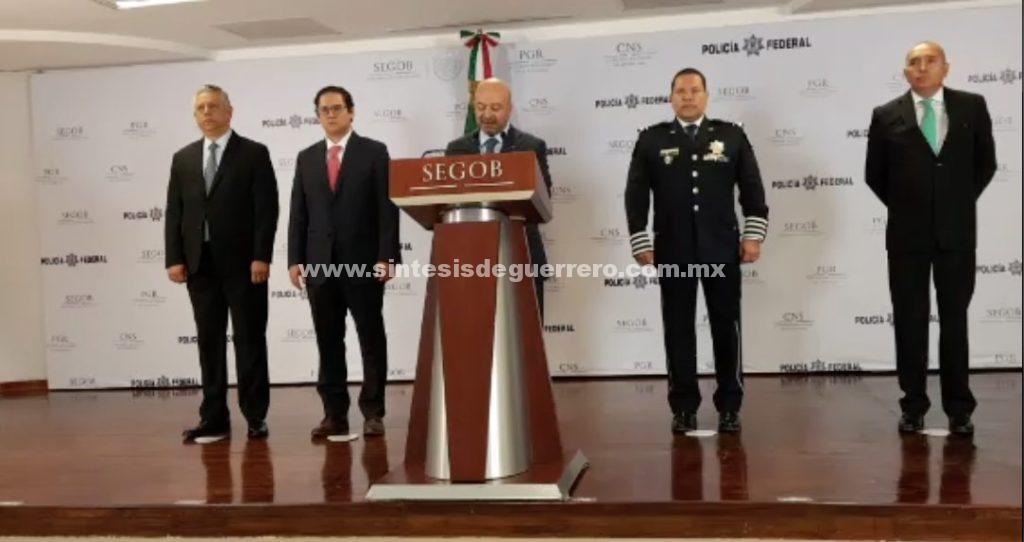 Segob anuncia el arresto del presunto asesino del periodista sinaloense Javier Valdez