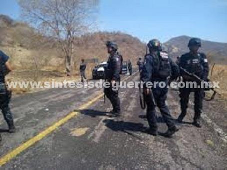 Dos Gendarmes heridos, tras ser emboscados en Coyuca de Catalán