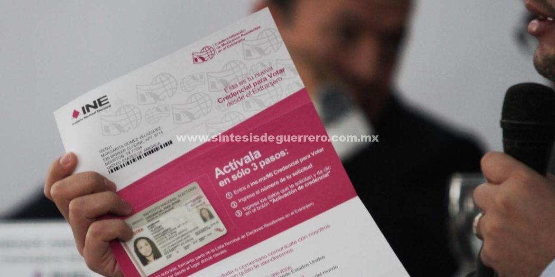 Este lunes vence plazo para que capitalinos en el extranjero activen su credencial para votar