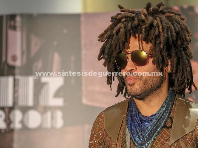 Lenny Kravitz incluirá a México en su agenda de presentaciones