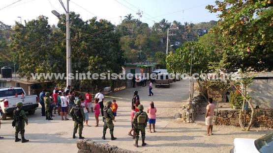 Narcoviolencia deja 6 personas muertas en Acapulco, este viernes