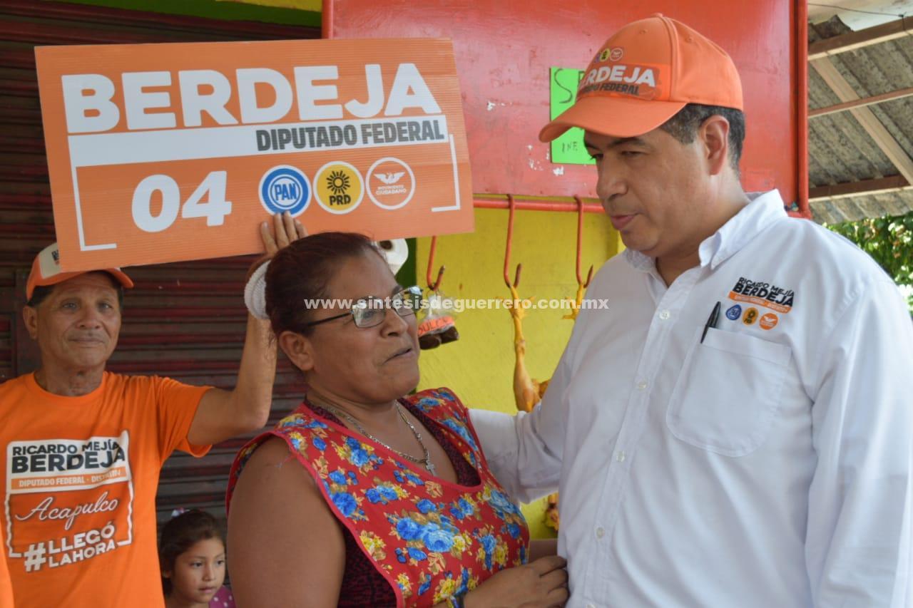 Promoveré restablecer anterior Hospital General de Ruiz Cortines: Mejía Berdeja