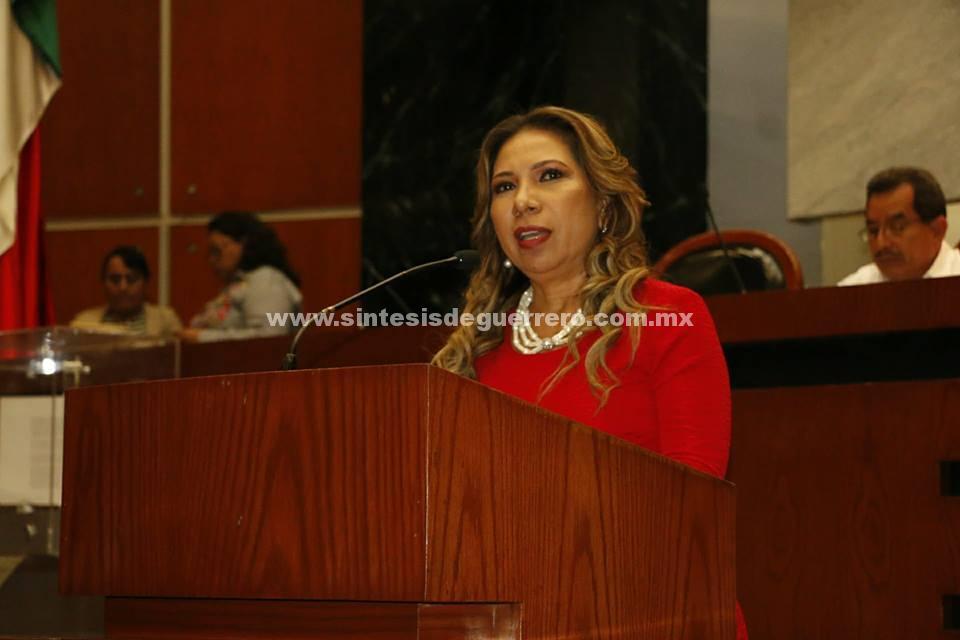 La diputada Maluisa Vargas Mejía propuso modificar la Ley de Trabajo de los Servidores Públicos del Estado