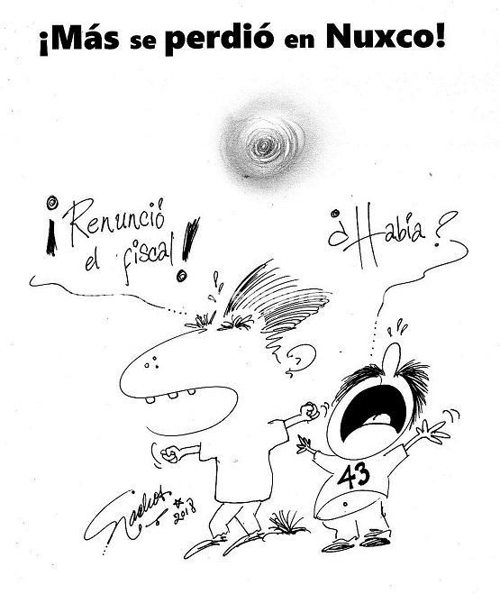 El Cartón de Nacho's: ¡Más se perdió en Nuxco!